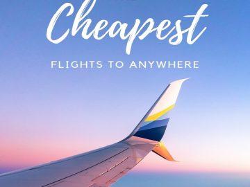 10 Best Ways to Buy Cheap Flight Tickets