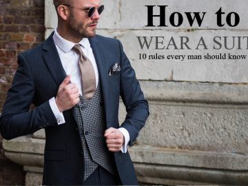 Suits are really important for men. You can enjoy here 10 Suit Rules That Every Gentleman Should Know.