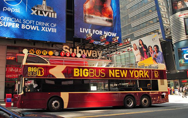 New York Bus tours is very popular in this city.