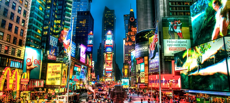 Times Square is one of the most famous places in the world.