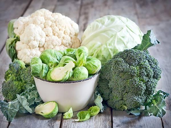 gabbage type vegetables